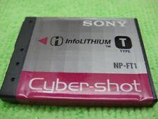Genuine Sony T Type NP_FT! 3.6V 2400mAh cyber-shot Cameras Li-ion Battery