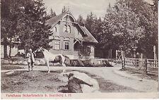 Germany AK Ilsenburg i. H. - Forsthaus Scharfenstein 1906 cover mailed postcard