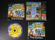 TURBO SCHTROUMPF : JEU Sony PLAYSTATION PS1 PS2 (courses COMPLET suivi PAL)
