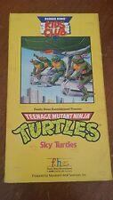 Teenage Mutant Ninja Turtles Sky Turtles  VHS Movie  Burger King Kids Club