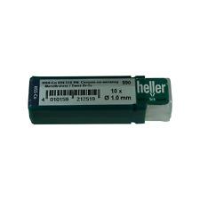 Heller 1mm HSS Cobalt Metal Drill Bits 10 Pack HSS-Co High Quality German Tools