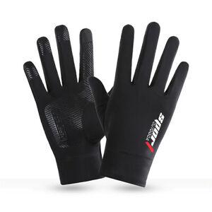 Anti-UV MTB Gloves Motocross Mountain Bike Full Finger Fingerless Cycling Riding