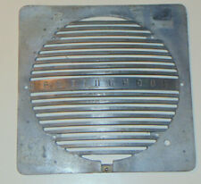 "VINTAGE 1940s WESTINGHOUSE INDUSTRIAL FAN/VENT GRILL! CAST METAL! 12"" SQ! LOGO!"