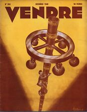 ▬►MARKETING PUBLICITÉ  -- VENDRE N° 202 (DECEMBRE 1946) --  COVER JACQ GODARD