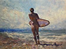 Original Painting by American Artist M.hee / Nude# 0183AC