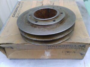 Caterpillar crankshaft pulley 7M0175 new old stock item. Suit 977 Track loader