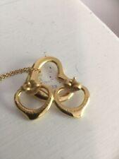 Tiffany Elsa Peretti Open Heart Necklace And Earring Set
