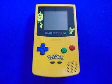 Gameboy Color Console POKEMON Yellow Edition *Rare* Game Boy Colour Nintendo PAL