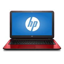 "HP Flyer Red 15.6"" 15-f272wm Laptop PC with Intel Pentium N3540 Processor, 4GB M"