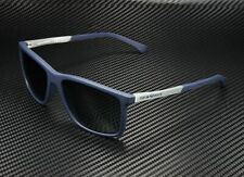 EMPORIO ARMANI EA4058 547487 Blue Rubber Grey 58 mm Men's Sunglasses