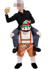 Oktoberfest Bavarian Beer Guy Costume Carry Me Mascot Fancy Dress Ride On Adults