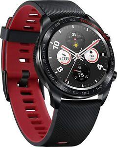 HONOR Smartwatch im klassischen Uhrendesign mit 3 cm (1,2 Zoll) AMOLED Display,