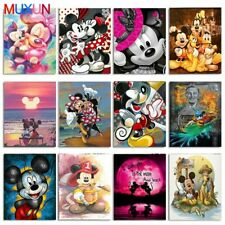 5D Diamond Painting Disney Mickey Minnie DIY Embroidery Cross Stitch Home Decor