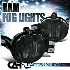02-08 Dodge Ram 1500/2500/3500 04-06 Dodge Durango Smoke Fog Lights Pair+Bulb
