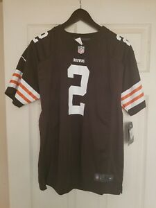 Cleveland Browns Johnny Manziel #2 Nike On-Field Jersey Youth L NWT