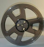 "Rare Empty 7"" Smoke colored Empty Reel to Reel take up reels. Nice looking"