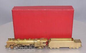 Key Imports HO BRASS NYC L-3b 4-8-2 Mohawk Steam Loco & Tender - Unpainted/Box