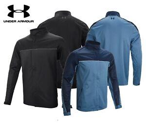 New UNDER ARMOUR UA Storm Waterproof Golf Rain Jacket Full Zip - XS 4XL £130 RRP