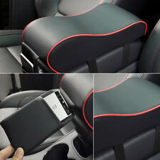 Universal Auto Car Armrest Box Mats PU Leather Console Pad Liner Cushion Cover