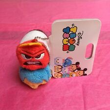 New!! Inside Out Plush Key Chain - Anger & Joy ❤ Tsum Disney Store Japan
