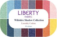 LIBERTY Wiltshire Shades Fabrics Various Colours 100% Cotton Craft & Quilting