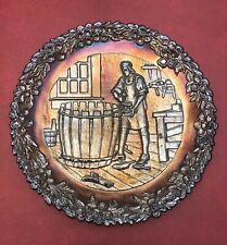 Vintage Fenton Carnival Glass Collector Plate No. 5 Famous Cooper John Alden 197