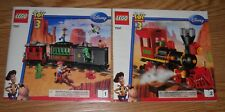 NEW LEGO INSTRUCTIONS ONLY FOR 7597, TOY STORY 3, WESTERN TRAIN CHASE, 2 BOOKS