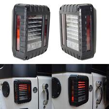 G2 LED Tail Light Black with Clear Lens For 07-18 Jeep Wrangler JK JKU Led Lamp