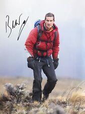 Bear Grylls Hand Signed 16x12 Photo Born Survivor.