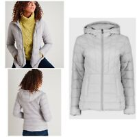 TU GRAY MICROFIBRE PADDED COAT IN BAG SIZE 14 Brand New With Tags
