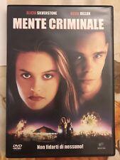 DVD - Alicia Silverstone, Kevin Dillon - Mente Criminale