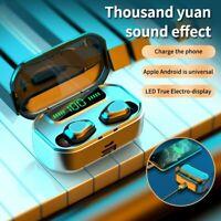 Bluetooth Earbuds Wireless Headphone 5.0 Noise Canceling Waterproof Headset IPX7