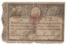 PORTUGAL PORTUGUESE EMPIRE KING PEDRO IV 5$000 5000 REIS 1798 P NL LOOK SCANS