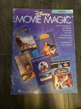 Disney Movie Magic Alto Sax Saxophone Solos Sheet Music Hal Leonard Book