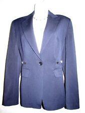 VERTIGO PARIS Blue Blazer Polyester Blend ZS S NEW