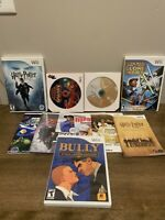Nintendo Wii 9 Game Lot -Mario, Star Wars, Zelda, Harry Potter And more!!