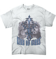 King of Kings Christian Religious Gift Jesus Short Sleeve T-Shirt Tees Tshirts