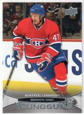 2011/12 BRENDON NASH UPPER DECK YOUNG GUNS ROOKIE #222 MONTREAL CANADIENS