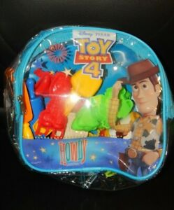 Cra-Z-Art Disney Toy Story 4 Softee Dough on the Go Backpack Set Play Doh Toys