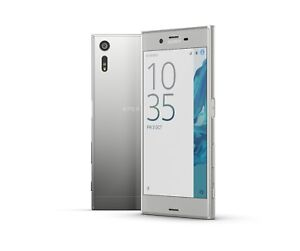 Sony XPERIA XZ in Platinum Handy Dummy Attrappe - Requisit, Deko, Muster