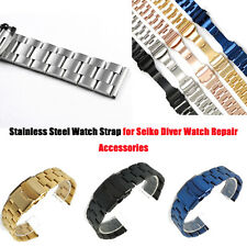 Stainless Steel Watch Strap Watchband Bracelet for Seiko Diver Watch Accessories