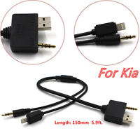 1Pcs Music Interface to IPOD IPHONE 5 6 USB AUX Cable for Hyundai Kia Universal
