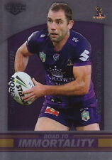 NRL 2016 RUGBY LEAGUE Elite - Cameron Smith 'Immortality' Case Card #98/200