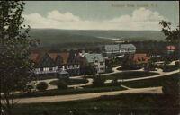 Loomis NY Birdseye View c1910 Postcard