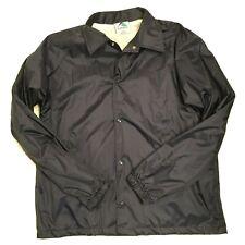 Augusta Sportswear Men's Snap Front Light Weigh Navy Jacket Size Medium