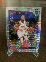 2019-20 NBA Hoops Premium Stock Tribute Dwayne Wade Pulsar Prizm Miami Heat