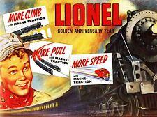 Publicidad Juguete Tren colector Ferrocarril Eléctrico Modelo tracción arte cartel impresión lv265