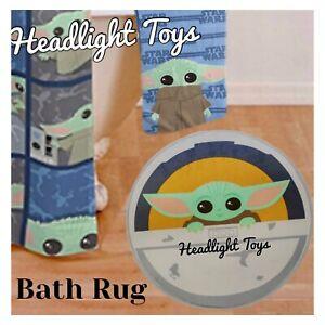 Star Wars The Child Foam Bath Rug Mat Baby Yoda Mandalorian Disney Bathroom NEW