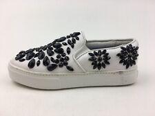 Jeffrey Campbell Sarlo-JWL Slip on Sneakers Women's Size 6 M, White 2692