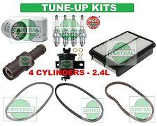 90-95 TOYOTA 4RUNNER PICKUP (4 CYL.-2.4L): SPARK PLUG BELT & FILTER